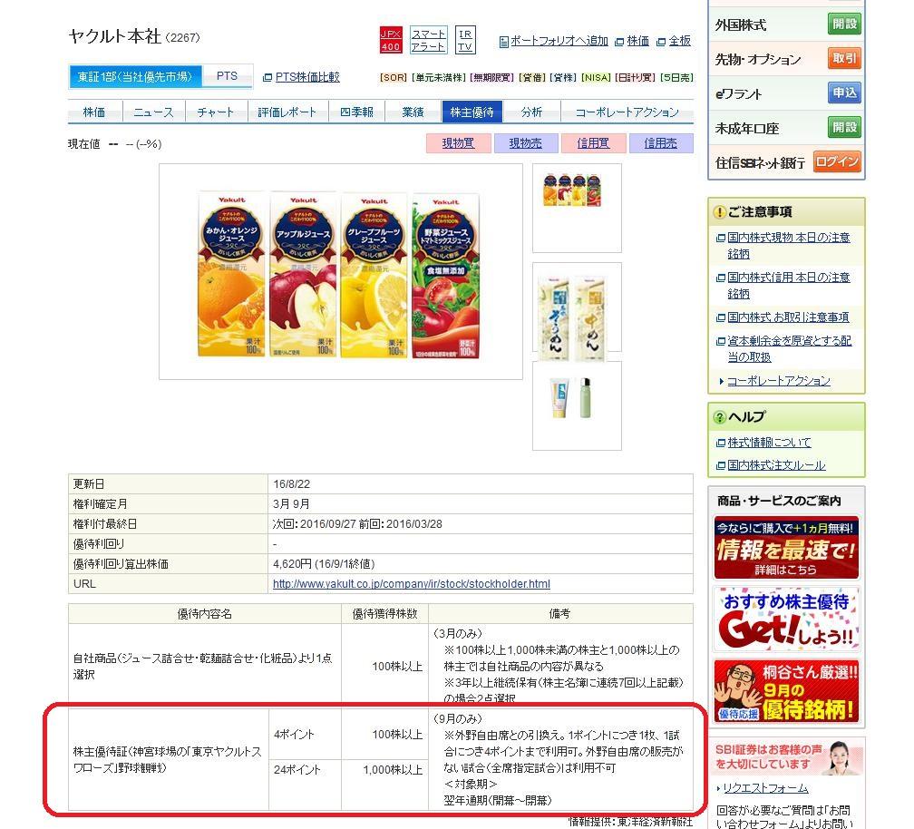 16.9.2SBI証券-株主優待検索-ヤクルト2-min